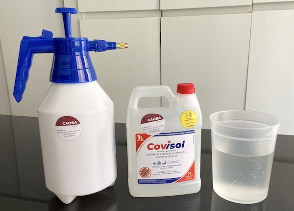 ¿Quieres desinfectar y proteger tus espacios contra el Covid-19 ?
