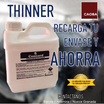 Recarga Thinner