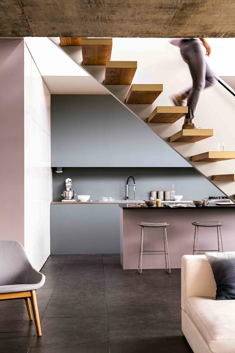 cocina-moderna-rosa-gris